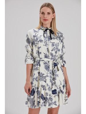 Sensiline - 211090 Lacivert Elbise