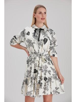 Sensiline - 211090 Siyah  Elbise