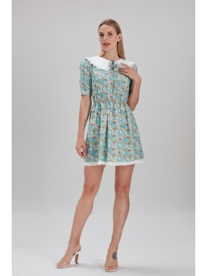 Sensiline - 2110004 Yeşil Elbise
