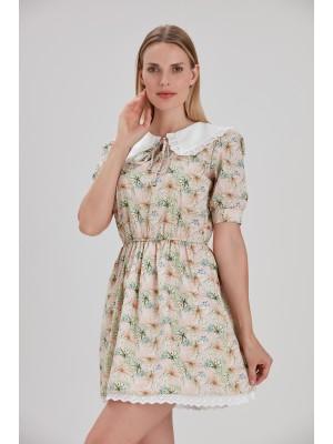 Sensiline - 2110004 Sarı Elbise