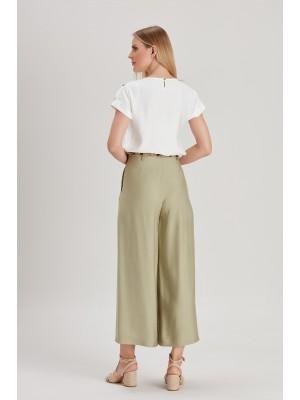 Sensiline - 215074 Haki Pantolunlu Takım