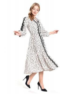 Sensiline - 211020 Ekru Elbise