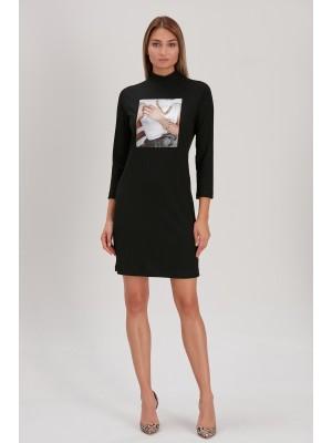 Marcamec - 211379 Siyah Elbise